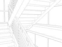 Абстрактное archticture иллюстрация штока