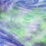 абстрактное bacground, с звёздным Стоковая Фотография