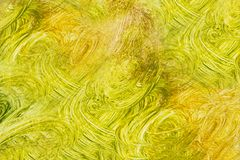 Абстрактное backgroud желтого коричневого цвета grungy с текстурой Стоковая Фотография RF