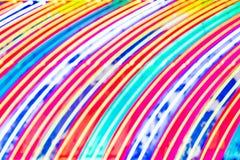 абстрактное bokeh предпосылки цветастое Запачканные света nigtht Стоковая Фотография
