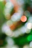 Абстрактное bokeh предпосылки освещения Стоковые Изображения RF