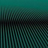 Абстрактное bokeh ставит точки волны Стоковые Изображения RF