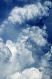 абстрактное cloudscape предпосылки Стоковая Фотография RF