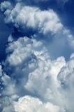 абстрактное cloudscape предпосылки Стоковое Фото