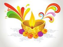 абстрактное diwali предпосылки Стоковое Фото