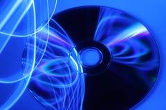 абстрактное dvd предпосылки новое Стоковая Фотография