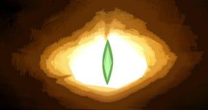 абстрактное gragon глаза Стоковое фото RF