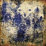 абстрактное grunge графика предпосылки Стоковые Изображения RF