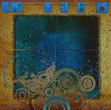 абстрактное grunge конструкции Стоковые Фотографии RF