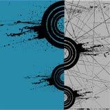 абстрактное grunge предпосылки Стоковое фото RF