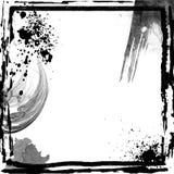 абстрактное grunge рамки иллюстрация вектора