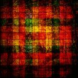 абстрактное grunge checkerboard предпосылки иллюстрация вектора