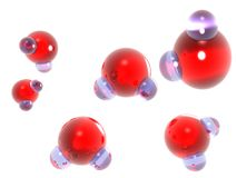абстрактное h2o Стоковые Изображения RF