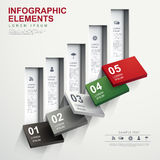 Абстрактное infographics графика течения бесплатная иллюстрация