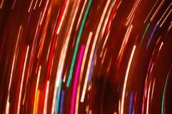 абстрактное lightshow Стоковая Фотография RF