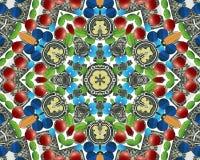 абстрактное multifinal делает по образцу звезду Стоковые Фото