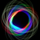 абстрактное physiogram предпосылки стоковая фотография rf