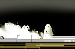 абстрактное sci fi предпосылки Стоковые Изображения