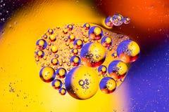 Абстрактное sctructure молекулы Макрос снятый воздуха или молекулы абстрактная предпосылка Предпосылка космоса или планет абстрак Стоковая Фотография