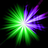 абстрактное starburst Стоковые Фотографии RF