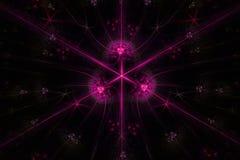 Абстрактное stardust на темной предпосылке бесплатная иллюстрация