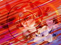 абстрактное striped background1 иллюстрация штока