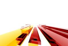 абстрактное structure011 Стоковые Изображения