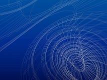 абстрактное wireframe зодчества Стоковое фото RF