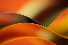 абстрактной бумага покрашенная предпосылкой померанцовая Стоковая Фотография RF