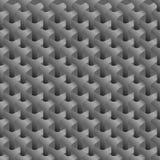 Абстрактной заплетенный предпосылкой monochrome расшивы Стоковое Изображение RF