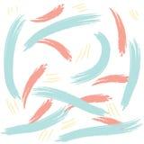 Абстрактной нарисованная рукой картина щетки Стоковая Фотография