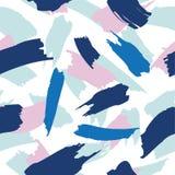 Абстрактной нарисованная рукой картина щетки Стоковое Изображение RF