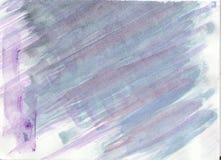 Абстрактной нарисованная рукой фиолетовая и серая предпосылка акварели, иллюстрация растра иллюстрация вектора