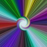 Абстрактной покрашенная радугой предпосылка звезды Стоковые Изображения RF