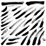 абстрактной покрашенная щеткой реальная текстура ходов к трассировано была Стоковое Изображение RF