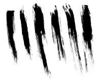 абстрактной покрашенная щеткой реальная текстура ходов к трассировано была Стоковое Изображение