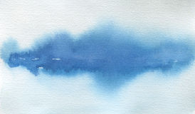 Абстрактной предпосылка ландшафта акварели покрашенная помаркой текстура стоковое изображение rf
