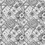 Абстрактной предпосылка doodle нарисованная рукой Стоковое фото RF