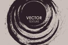 Абстрактной предпосылка grunge круглой сорванная текстурой Стоковые Изображения