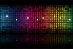 абстрактной радуга покрашенная предпосылкой Стоковые Изображения