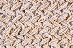 Абстрактной связанный предпосылкой крупный план картины ткани Стоковое Изображение
