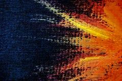 абстрактной текстура покрашенная предпосылкой Стоковая Фотография RF