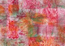 абстрактной текстура покрашенная предпосылкой Стоковая Фотография