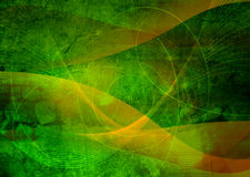 абстрактно охладьте волны Стоковая Фотография RF