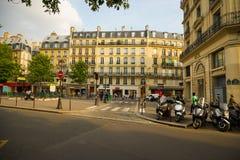 абстрактные автомобили нерезкости красят версию улицы изображения влияния Стоковая Фотография RF