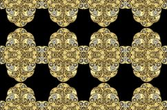 абстрактные античные clockworks предпосылки Стоковое Фото