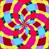 Абстрактные безшовные геометрические картины Калейдоскоп безшовный геометрическая картина стоковое изображение rf