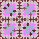 Абстрактные безшовные геометрические картины Стоковые Фото