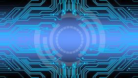 Абстрактные будущие телекоммуникации предпосылка технологии, иллюстрация вектора иллюстрация штока