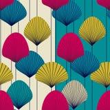 абстрактные вентиляторы делают по образцу безшовное Стоковые Фото